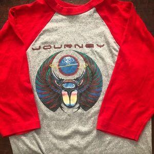 Other - Journey 1981 Escape concert raglan T-shirt A57
